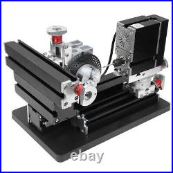 100-240V All-Metal Drill Milling Machine High Power 60W DIY Tool XYZ Shaft NCZ