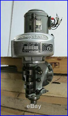 12,000 RPM High Speed Head Spindle for Bridgeport Mill Milling Machine 1HP