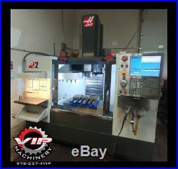 12/2011 Haas VF-2 VMC. 1 Owner, Clean Machine