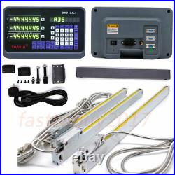 14 18 38 Linear Glass Scale Bridgeport Mill Digital Readout 3Axis DRO KitUS