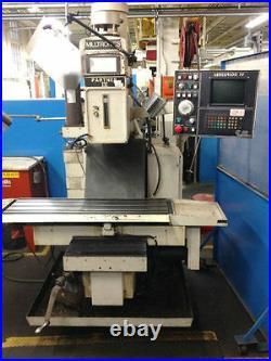 16 x 32 MILLTRONICS PARTNER IV CNC VERTICAL MACHINING CENTER #28027