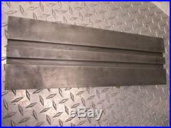 18 x 6 x 1-1/4 THICK METAL WORKING SLOTTED TABLE
