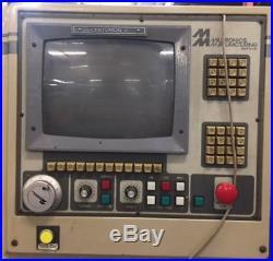 1995 MILLTRONICS PARTNER 1 CNC VERTICAL MACHINING CENTER With CENTURION-V CONTROL