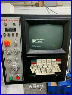 1996 Fadal VMC 4020 HT, Rigid Tap, 10,000 RPM Spindle, 15hp Motor, 21 Tool ATC