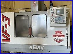 1996 HAAS VF-3 CNC Vertical Machining Runs Good With Tooling VF3