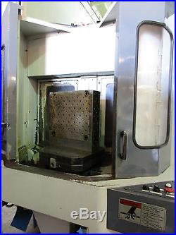 1998 MAZAK HTC-400 CNC HORIZONTAL MILL Dual Pallet, 22x20x20 Travels