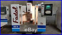 1999 Fadal VMC 15 With Fourth Axis Vh5c Included, Super Clean Low Hours