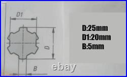 1SET Mill Machine Parts R8 Spindle + Bearings Assembly Fit BRIDGEPORT Milling US