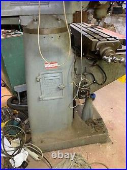 1.5 HP Bridgeport Vertical Milling Machine
