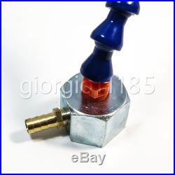1pc Magnetic Base Valve Coolant Hose 1/4 280mm