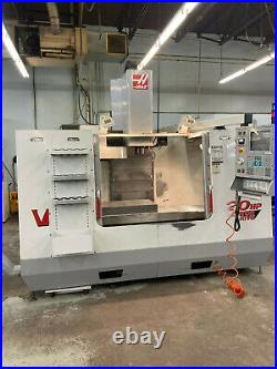 2000 HAAS VF-3B CNC Vertical Machining Center in Good Working Condition