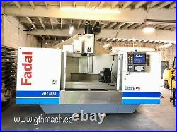 2004 Fadal VMC 6030 CNC Vertical Machining Center 4th Axis Rigid Tap 10,000 RPM
