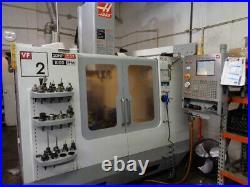 2005 Haas VF-2D CNC Vertical Machining Center 30x16x20, 7500RPM CAT40 Rigid VF2