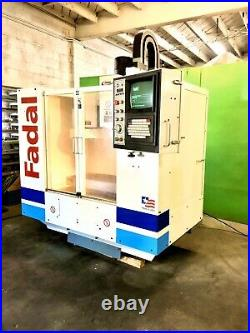 2006 Fadal VMC 15 CNC Machining Center Rigid Taping