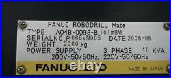 2006 Fanuc Robodrill Mate, Fanuc 0i-MC, 10k RPM