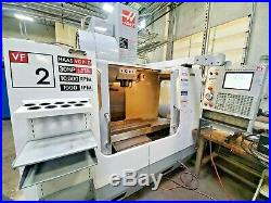 2006 Haas VF-2 CNC Vertical Machining Center Side Mount with30 HP 10K RPM Spindle