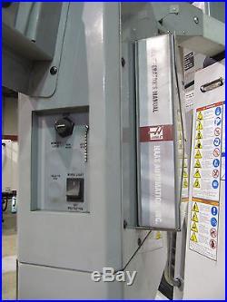 2007 HAAS VF-3 CNC VERTICAL MILL 40 x 20, 7500-RPM, 20-Station (VF-3D)