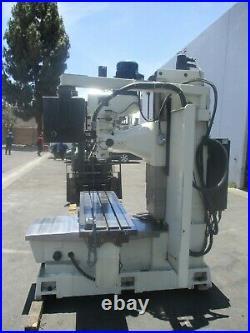 2008 Acra 12 X 60 Heavy Duty Cnc Bed MILL W / Anilam 3000 M Control / 40 Taper