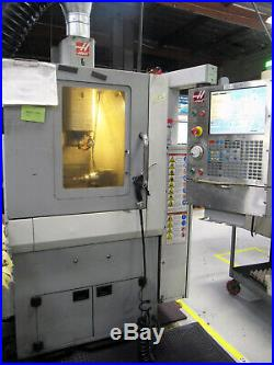2009 HAAS OM-2A (Office Mill) CNC Milling with 4th-Axis Rotary, High-Precision