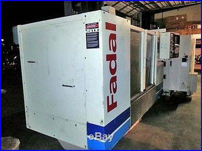 2012 Fadal 4020 5 axis TSC extended Z VMC NO RESERVE