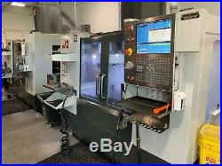 2015 Haas VF2 CNC with HRT210 Rotary Probe 20 ATC 4th Axis Auger P-Cool 300PSI TSC
