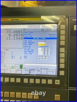 2018 Doosan DNM 4500 VMC 12,000 RPM Spindle Stock #7885