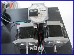 2 Light Machines Corp SpectraLIGHT CNC Milling Machine Controllers and Motors