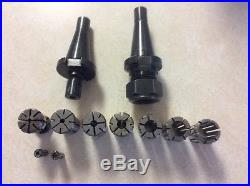 30 taper nmtb Erickson collet chuck Large and small with large collet set