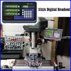 3Axis Digital Readout DRO Display Read Out for Milling Lathe Machine Grind, US