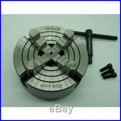 4 Jaw Chuck 6 With Reversible Independent Jaws