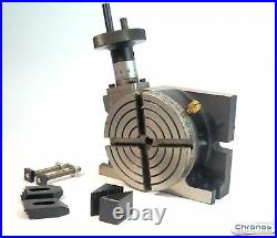 4 Rotary Table With 65 MM 3 Jaw Chuck For Milling Etc 111059