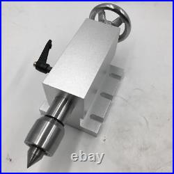 4th A Axis Tailstock Rotary Axis Rotational Axis 41 3Jaw 100mm Chuck CNC Router