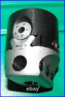 50mm Boring Head with R8 shank and set of 9 12mm diameter tools suit Bridgeport