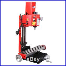 550W 2500rpm Milling Drilling Machine /6 In 1 Metal Mini Motorized Lathe Machine