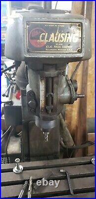 8520 Clausing vertical mill 110v