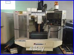 97 Kitamura Mycenter 1 CNC Vertical Machining Center Mill Yasnac 13,000 rpm spn