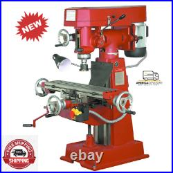 9 Speed Vertical Milling Machine-Handle all kinds of milling jobs