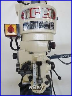 9 x 42 ACER 2 HP Vertical Milling Machine