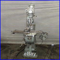9 x 42 Bridgeport Vertical Milling Machine, Model 2J