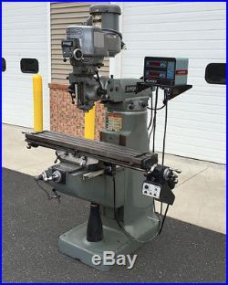 9 x 48 Bridgeport Vertical Milling Machine Series I