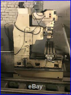 9x 42 Milling Machine Machine Bedmill Rb 1