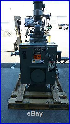 9x 48 Bridgeport 2 Axis CNC Knee Mill, With EZ Trak + Upgraded Screen (Used)