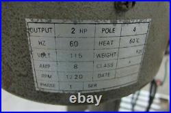 AJ Tools Model DM-3OA Mill Drill Milling Drilling Machine 1 Phase 2HP Table 8x28