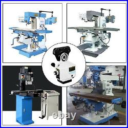 AL-310S X-AXIS Power Feed Milling Machine 110V 450in-lb continuous Vari Speeds