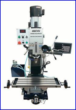 AMADEAL AMAT45FG Milling Machine 6-speed 1.5Kw motor R8