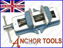 ANCHOR TOOLS 3 Low Profile Vice 75mm Milling Machine Vise Self Centering UK