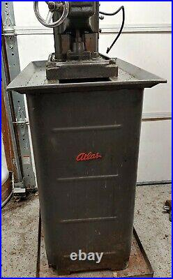 ATLAS Horizontal Mill with MARVIN Vertical Mill Attachment