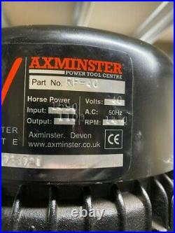 AXMINSTER RF-40 MILLING MACHINE DRILL SINGLE PHASE 240v ON STAND- GEAR HEADED