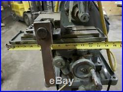 A. V. Carroll Sons Mchy. Co. Cincinnati Ohio No. 1 Horizontal Milling Machine