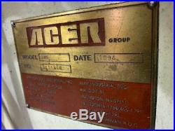 Acer (Bridgeport) 3VS Vertical Mill, 49 Tbl 1.5HP Vari-Speed, R-8, READ DESCRIP